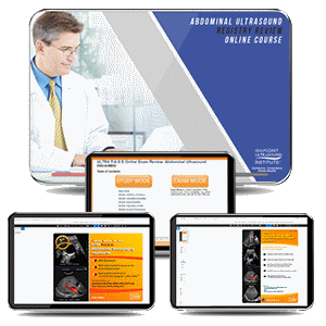 CME - Abdominal Ultrasound Registry Review - Online Gold Package