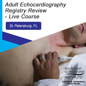 CME - Adult Echocardiography Registry Review