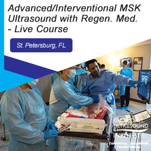 CME - Advanced/Interventional MSK Ultrasound with Regenerative Medicine - MARM-192