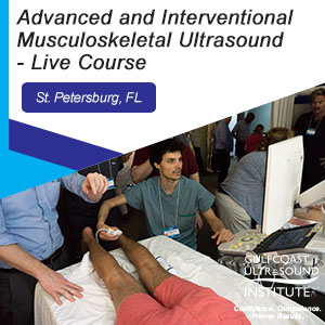 CME - Advanced & Interventional Musculoskeletal Ultrasound - MA-191