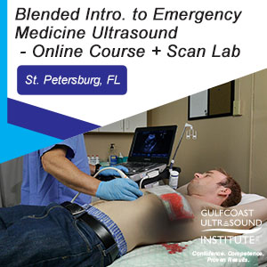 CME - Blended Introduction to Emergency Medicine Ultrasound