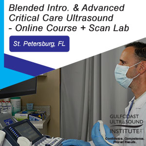 Blended Introduction to Critical Care and Advanced Emergency Medicine/Critical Care Ultrasound