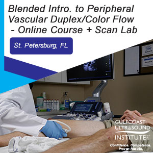 CME - Blended Intro. Peripheral Vascular Duplex/Color Flow Ultrasound