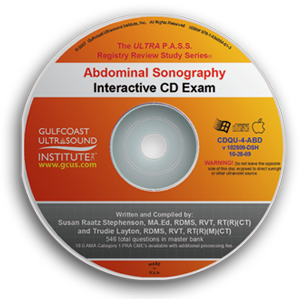 ULTRA P.A.S.S. Abdominal Sonography Registry Review Exam CD