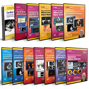 Introduction to Adult Echocardiography DVD Course Pack