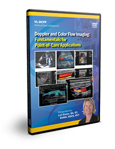 Doppler and Color Flow Imaging: Fundamentals for Point-of-Care Applications - DVD