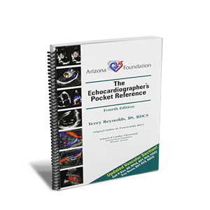 The Echocardiographic Pocket Reference 4th Ed. - Spiral Bound Book