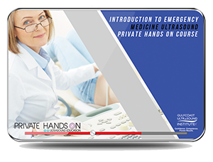 CME - Private Hands-On Introduction to Emergency Medicine Ultrasound