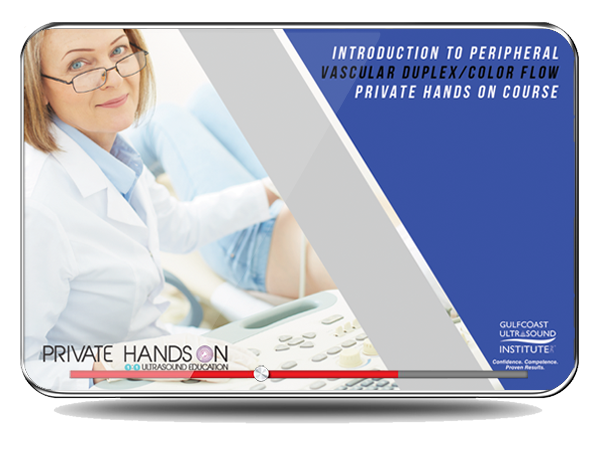 CME - Private Hands On Introduction to Peripheral Vascular Imaging