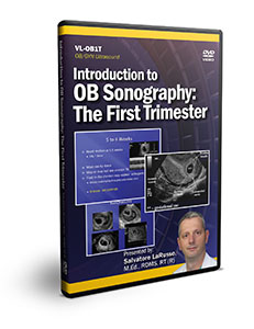 Introduction to OB Sonography: The First Trimester - DVD