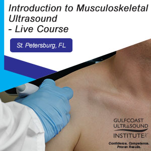 CME - Introduction to Musculoskeletal Ultrasound - M-191
