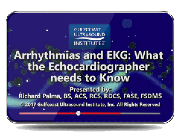CME - Arrhythmias and EKG: What the Echocardiographer Needs to Know