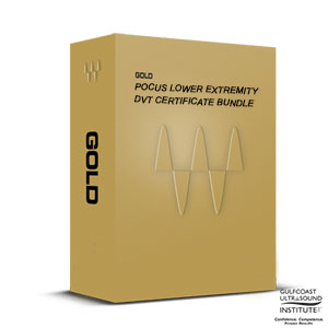 POCUS Lower Extremity DVT Certificate Gold Bundle