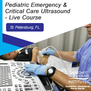 CME - Pediatric Emergency & Critical Care Ultrasound - PECC-191