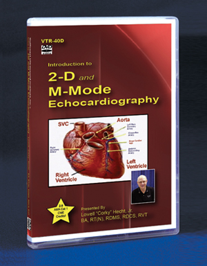 Introduction to 2D and M-Mode Echocardiography DVD