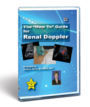 How To Guide For Renal Doppler