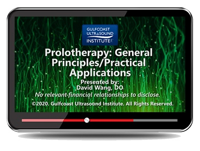 Prolotherapy: General Principles and Practical Applications