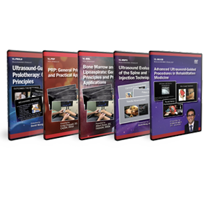 CME - Ultrasound Guided Regenerative Medicine in MSK Applications DVD Course Pack