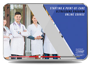 CME - Starting a Point-of-Care Ultrasound Program