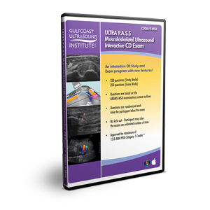 ULTRA P.A.S.S. Musculoskeletal Ultrasound Registry Review Interactive Mock Exam