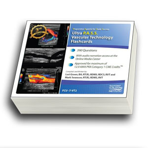 CME - ULTRA P.A.S.S. Vascular Technology Registry Review Flashcards