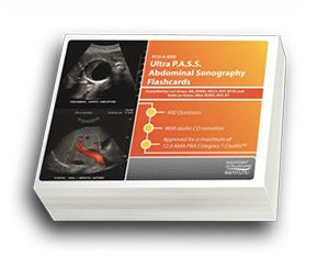 CME - ULTRA P.A.S.S. Abdominal Sonography Flashcards