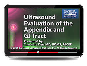 Ultrasound Evaluation of the Appendix and GI Tract