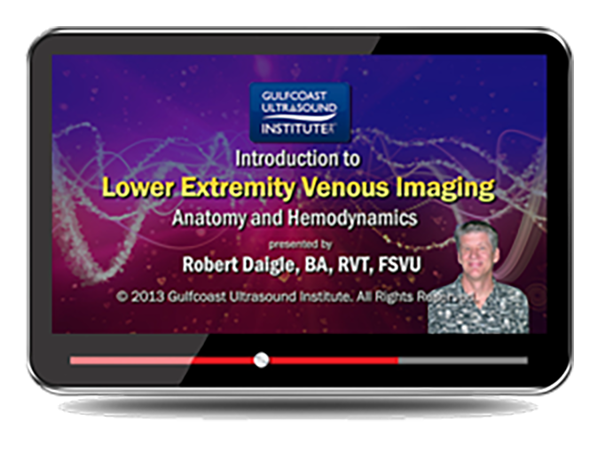 CME - Ultrasound Evaluation of the Lower Extremity Venous System