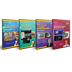 CME - Ultrasound-Guided Regional Anesthesia DVD Course Pack