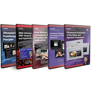 Ultrasound Guided Regenerative Medicine in MSK Applications DVD Course Pack