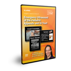 Emergency Ultrasound of the Pediatric Appendix and GI Tract