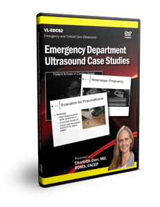 Emergency Department Ultrasound Case Studies - DVD