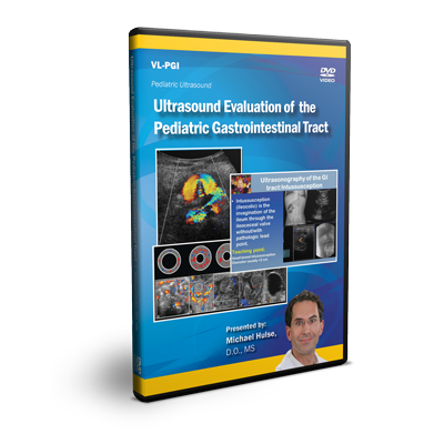 Ultrasound Evaluation of the Pediatric Gastrointestinal Tract