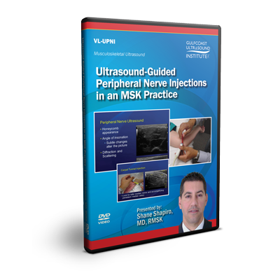 Ultrasound-Guided Peripheral Nerve Injections in an MSK Practice
