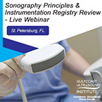 CME - Physics / Sonography Principles & Instrumentation (SPI) Registry Review - Live Webinar