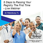 CME - 5 Steps to Passing Your Registry the First Time - Free Webinar