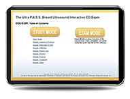 CME - ULTRA P.A.S.S. Breast Ultrasound Interactive Registry Review Online Mock Exam