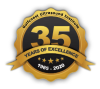 Years of excellence logo