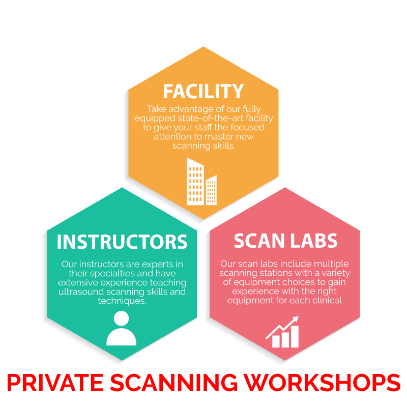 Private scanning workshops provided by Gulfcoast Ultrasound