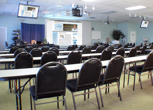 Classrooms at Gulfcoast Ultrasound Institute