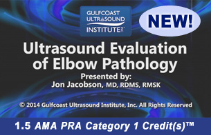 Ultrasound Evaluation of the Elbow Pathology