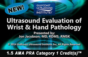 Ultrasound Evaluation of Wrist and Hand Pathology