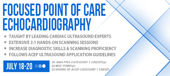 Focused Point of Care Echocardiography