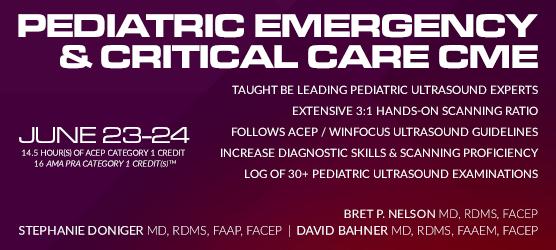 Pediatric Emergency & Critical Care Ultrasound