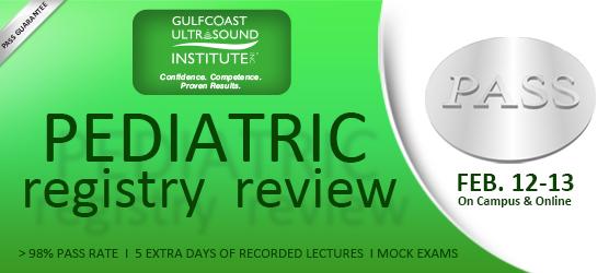 Pediatric Sonography Registry Review