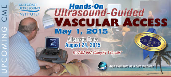 Ultrasound-Guided Vascular Access Course