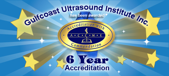 Gulfcoast Ultrasound Institute Receives Six Year Accreditation with Commendation Award