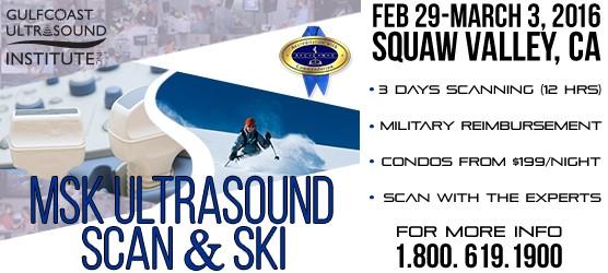 MSK Ultrasound Scan and Ski