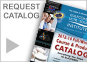 Check out or request a Gulfcoast Ultrasound Institute Catalog